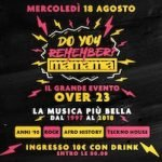 Do You Remember Mamamia Senigallia