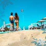 La festa al Mojito beach di Riccione