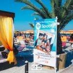Ultimi giorni di Agosto 2021 al Papeete beach di Milano Marittima