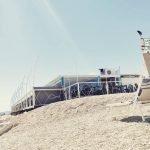 Chalet Beach di Marina di Montemarciano, la terrazza sul mare