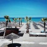 La festa dei turisti al Flamingo beach club di Riccione