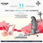 La Spiaggia Bagno 44 Riccione, the last move on of summer