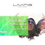 Monica Harem e Fabrizio Minuz al Living di Misano Adriatico